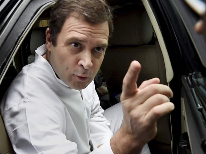 Rahul Gandhi tears up the BJP's tactic in Amethi | अमेठीत कोंडी करण्याचे भाजपचे डावपेच राहुल गांधींनी उधळले