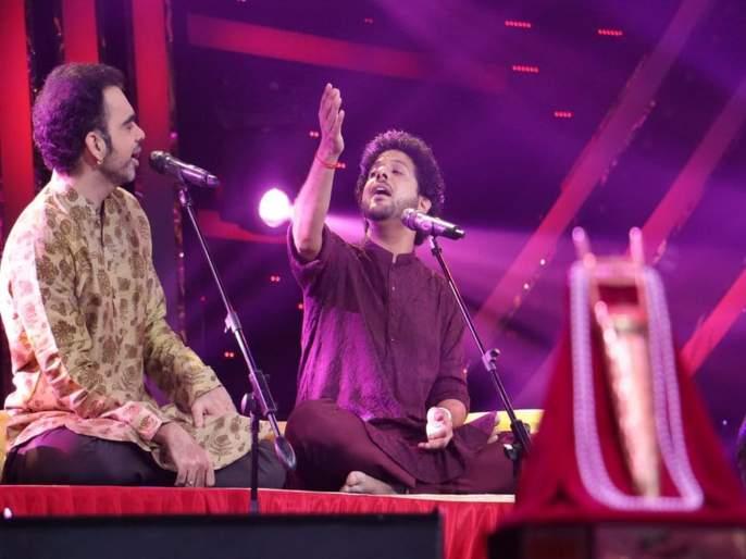 Mahesh Kale and Rahul Deshpande Jugalbandi in sur nava dhyas nava | 'सूर नवा ध्यास नवा' मध्ये रंगली महेश काळे-राहुल देशपांडे यांची जुगलबंदी, पाहा हा व्हिडिओ