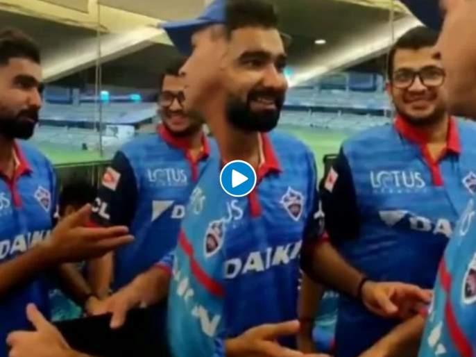 When Ricky Ponting had hilariously mocked Rahul Tewatia in the dressing room during during IPL 2019   हक्कासाठी जाब विचारणाऱ्या राहुल टेवाटियाची IPL 2019 मध्ये रिकी पाँटिंगनं केली होती थट्टा, Video
