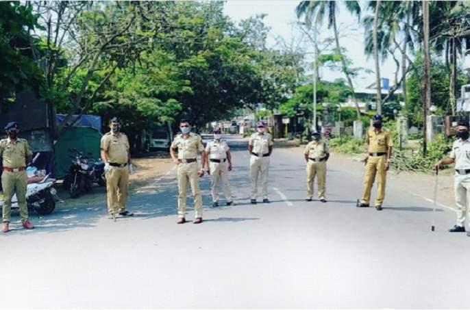 CoronaVirus Lockdown: Dryness on roads in Raigad district, spontaneous response to weekend lockdown | CoronaVirus Lockdown : रायगड जिल्ह्यातील रस्त्यांवर शुकशुकाट, वीकेंड लाॅकडाऊनला उत्स्फूर्त प्रतिसाद