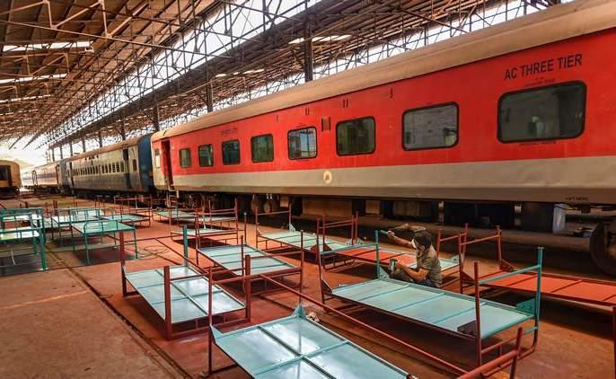 CoronaVirus: corona care train of 100-bed will be ready in 3 days rkp | CoronaVirus : तीन दिवसांत तयार होणार १०० बेड असणारी 'कोरोना केअर ट्रेन'