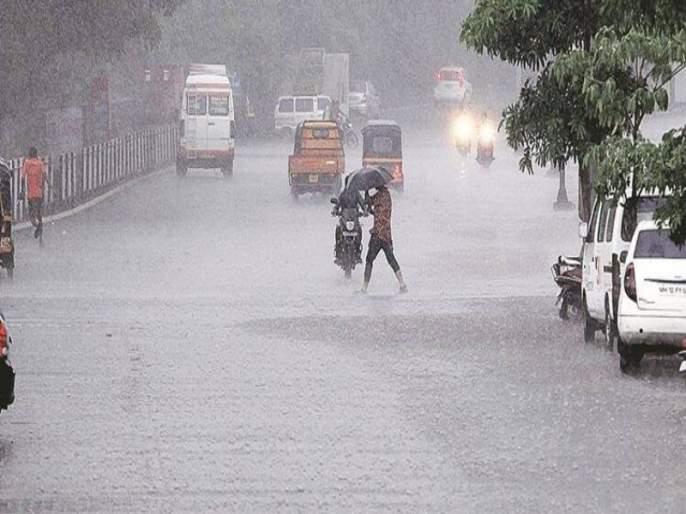 Rain Alert : The return rains lashed central Maharashtra; It will rain in the state till October 22 | Rain Alert : परतीच्या पावसाने मध्य महाराष्ट्राला झोडपले; २२ ऑक्टोबरपर्यंत राज्यात पाऊस राहणार