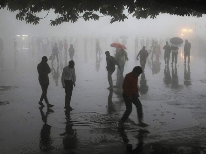 Light rain in Mumbai, Thane and Navi Mumbai area | मुंबई, ठाणे, नवी मुंबई परिसरात पावसाच्या हलक्या सरी