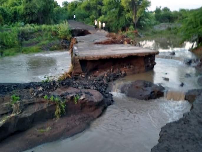 Baliraja was relieved by the presence of heavy rain in Parabhani District | दमदार पावसाच्या हजेरीने बळीराजा सुखावला