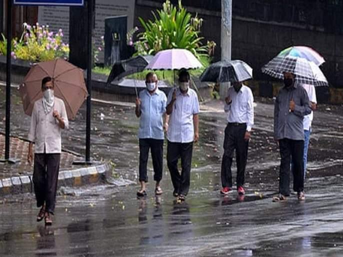 Cloudy weather: Rains continue in the city | ढगाळ हवामान : शहरात पावसाची रिमझिम सुरूच