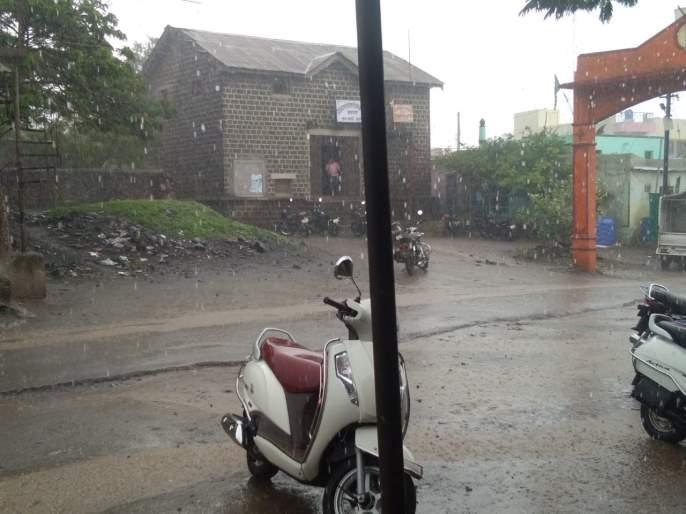 Heavy rain in the district in the next three days | येत्या तीन दिवसांमध्ये जिल्ह्यात मुसळधार पाऊस
