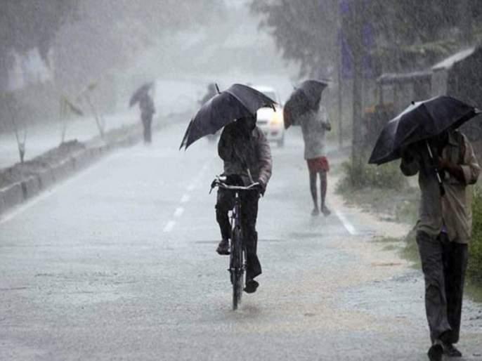 Heavy rain to the west after months | महिन्यानंतर पश्चिमेकडे जोरदार पाऊस