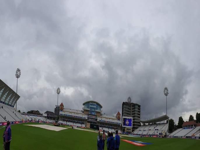 ICC World Cup 2019, IND vs NZ : Trent Bridge Slightly dark at the moment, but no rain, BCCI update | ICC World Cup 2019, IND vs NZ : पाऊस थांबलाय, पण... बीसीसीआयनं दिली महत्त्वाची अपडेट