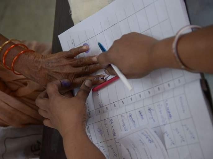 Nagpur percentage decreased but actual voting increased | नागपुरात टक्केवारी घटली पण प्रत्यक्ष मतदान वाढले