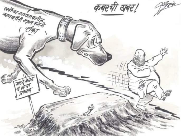 Justice Amit Shah reprimanded Raj Thackeray for his croaking cartoon | न्या. लोया मृत्यू प्रकरणावरच्या व्यंगचित्रातून राज ठाकरेंचे अमित शाहांना फटकारे