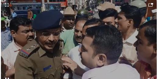 Minister of State for Health Rajendra Patil-Yadravkar in the possession of Belgaum police | आरोग्य राज्यमंत्री राजेंद्र पाटील-यड्रावकर बेळगाव पोलिसांच्या ताब्यात