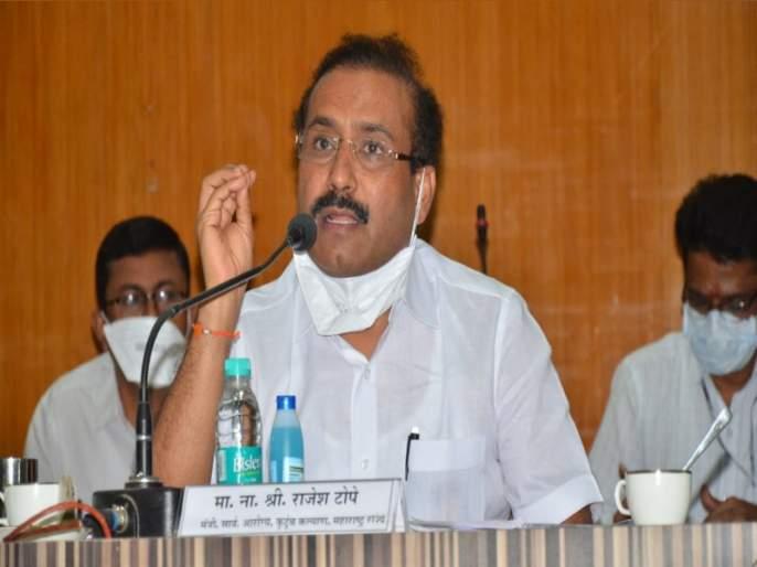 "bjp leader atul bhatkhalkar slams health minister rajesh tope his comment nationa news virar fire | Virar Hospital Fire : ""राजेश टोपे तुमच्या निबरपणाचा धिक्कार असो"""