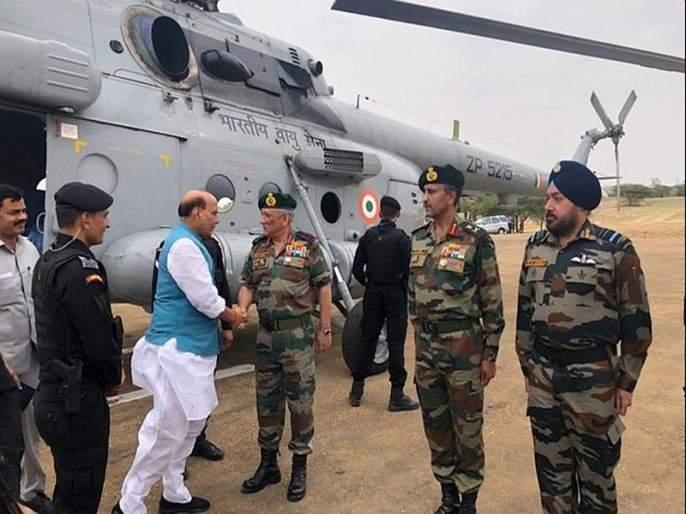 Rajnath Singh General Bipin Rawat In Touch After Army Attack Pakistan After Ceasefire Violation | PoKमध्ये धुमश्चक्री; 22 दहशतवाद्यांचा खात्मा, संरक्षणमंत्री लष्करप्रमुखांच्या संपर्कात