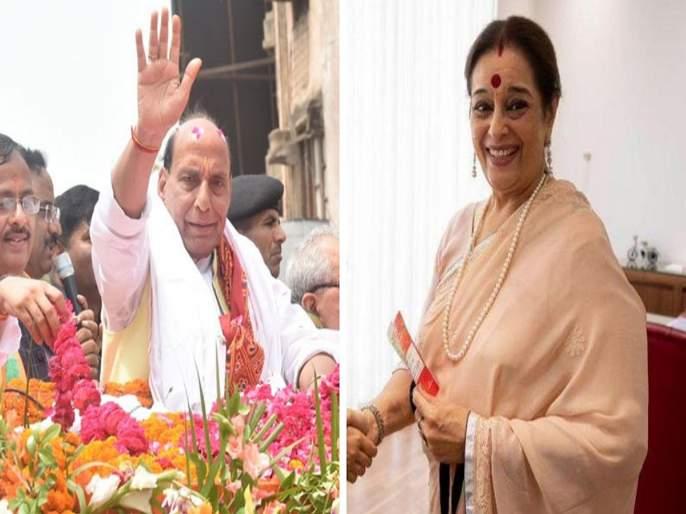 shatrughan sinha wife poonam sinha joins sp to contest against rajnath singh | राजनाथ सिंहांविरोधात पूनम सिन्हा निवडणुकीच्या रिंगणात उतरणार