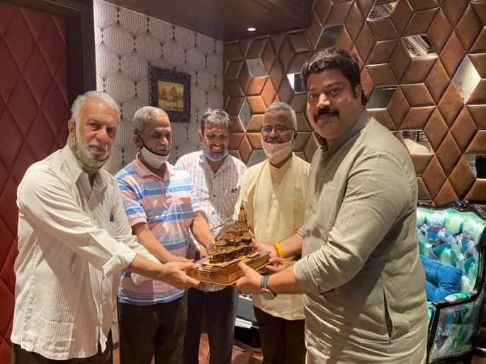 MNS MLA Raju Patil donate 2 and half lakh for ayodhya ram temple | अयोध्येतील राम मंदिराच्या उभारणीसाठी मनसे आमदाराकडून अडीच लाखांची मदत