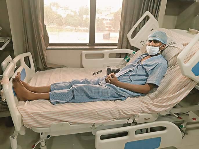 True defense; Sister gives life to her brother by donating kidney | खऱ्या अर्थाने रक्षा; किडनी देऊन बहिणीने केले भावाचे आयुष्य 'घट्ट'
