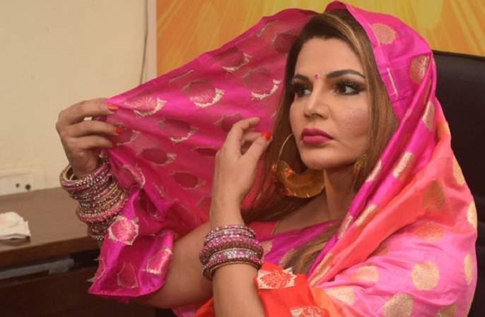 Rakhi Sawant's 'Fake Husband' deepak kalal slapped by woman in delhi metro   राखी सावंतच्या 'नकली पती'ची मेट्रोत धुलाई, व्हिडीओ व्हायरल