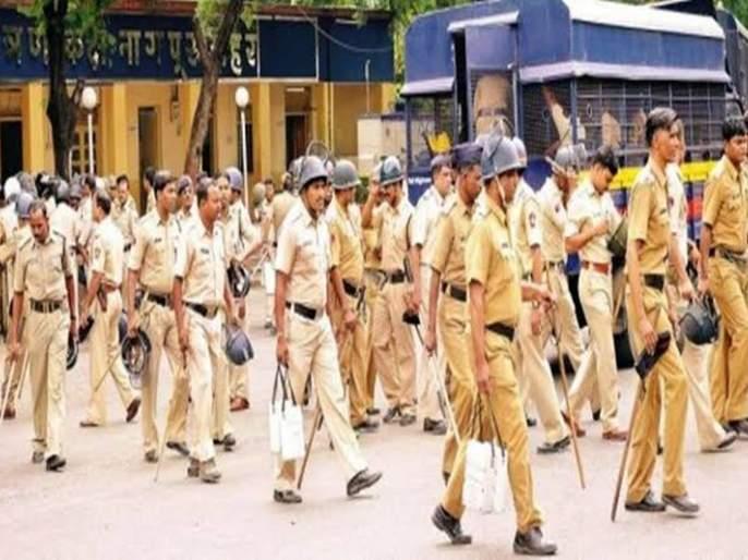 In the background of the verdict of case of Ayodhya, heavy bandobast in Nagpur   अयोध्या प्रकरणी निकालाच्या पार्श्वभूमीवर नागपुरात चोख बंदोबस्त