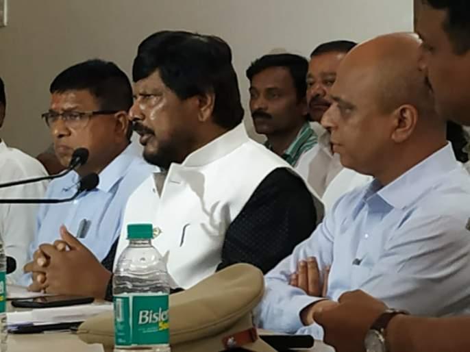 Due to 'deprived' deprived of Dalit power, Ramdas Athavale fears   'वंचित'मुळे दलित सत्तेपासून वंचित,रामदास आठवले यांची भिती