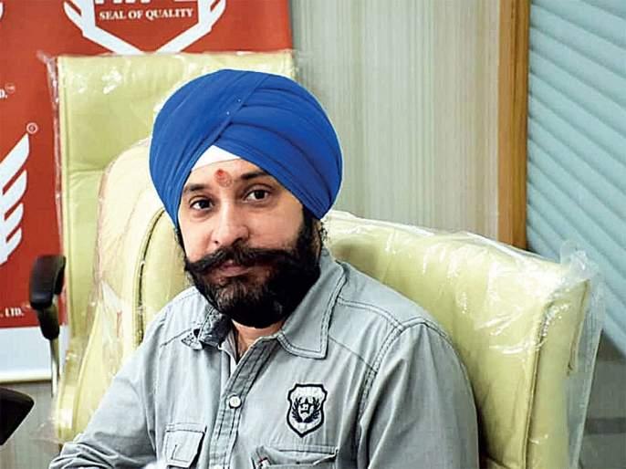 PMC Bank scam: Rajneet Singh's house collapsed   पीएमसी बँक घोटाळा: राजनीत सिंग याच्या घराची झाडाझडती