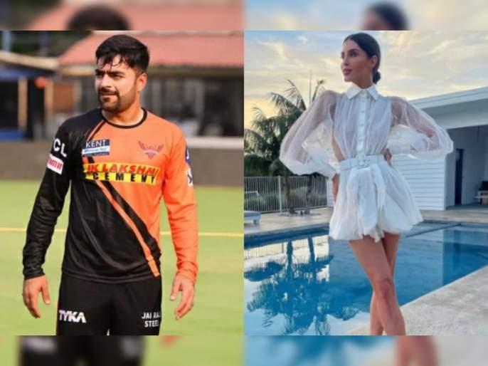 IPL 2021: Rashid Khan and Erin Holland engage in a cheeky Instagram banter ahead of the clash between SRH and KKR | IPL 2021, KKR vs SRH T20 Live : KKRच्या खेळाडूच्या पत्नीसोबत राशिद खानचा सोशल वॉर; सामन्यापूर्वीच मैदानाबाहेर तापले वातावरण!