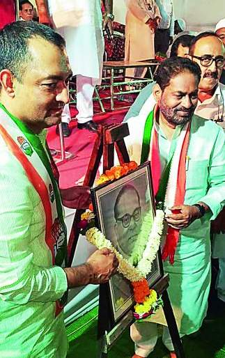 Maharashtra Assembly Election 2019: Vote for Congress for Patriotism: Nadeem Javed | Maharashtra Assembly Election 2019 : देशहितासाठी काँग्रेसला मतदान करा : नदीम जावेद