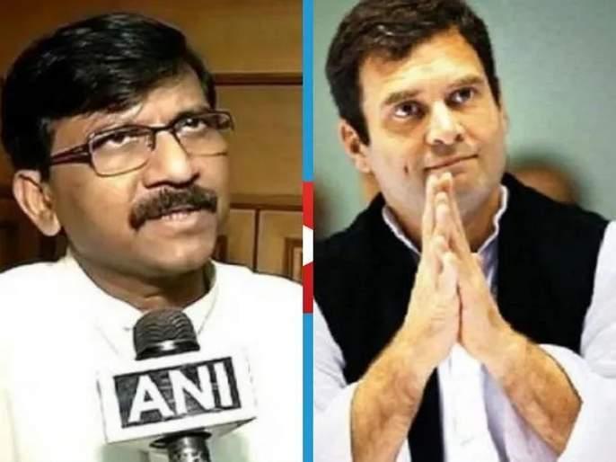 Shiv Sena indirectly warns congress leader rahul gandhi over his comment about savarkar | सावरकरांबद्दलच्या 'त्या' विधानावरुन शिवसेना आक्रमक; राहुल गांधींना सूचक इशारा