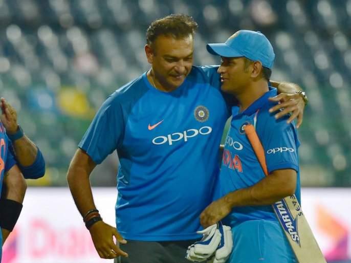 'The great players like Dhoni themselves decide their future', Ravi Shastri's critics reply   'धोनीसारखे महान खेळाडू स्वत: आपलं भविष्य ठरवतात', रवी शास्त्रींचं टीकाकारांना चोख उत्तर