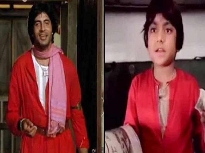 OMG Ravi valecha a little Amitabh from movie becomes successful businessman   अबब ! 'छोट्या अमिताभची' मोठी कमाई, उद्योगातून होतेय 300 कोटींची उलाढाल