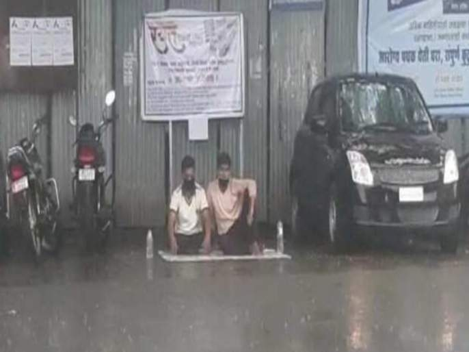 Pimpri-Chinchwad: Sewage treatment plant discharges untreated Sewage water into river; students lift hunger strike   Video : 'ना कुठली सभा ना कुठले राजकारण'; पिंपरीत धो-धो पावसात भिजणारे 'ते' युवक ठरले चर्चेचे कारण!