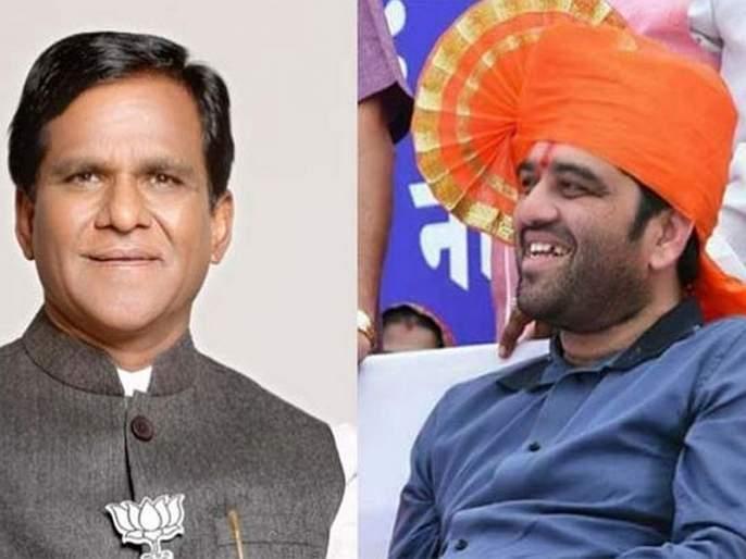 Do you feel sad for harshwardhan jadhav's defeat? Ravasaheb danave answer with smile   जावयाच्या पराभवाचं दु:ख वाटतंय का? रावसाहेबांनी हसून दिलं मिश्कील उत्तर...