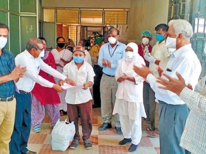 More than three lakh patients in the state are free of covid   राज्यात तीन लाखांहून अधिक रुग्ण कोविडमुक्त
