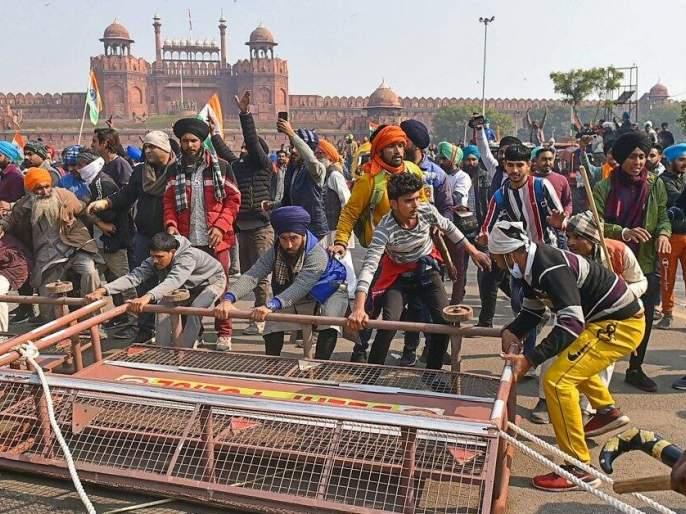 delhi police arrested two accused from jammu in red fort riot | लाल किल्ला हिंसाचाराप्रकरणी आणखी दोघांना अटक; कटाचे सूत्रधार असल्याचा आरोप