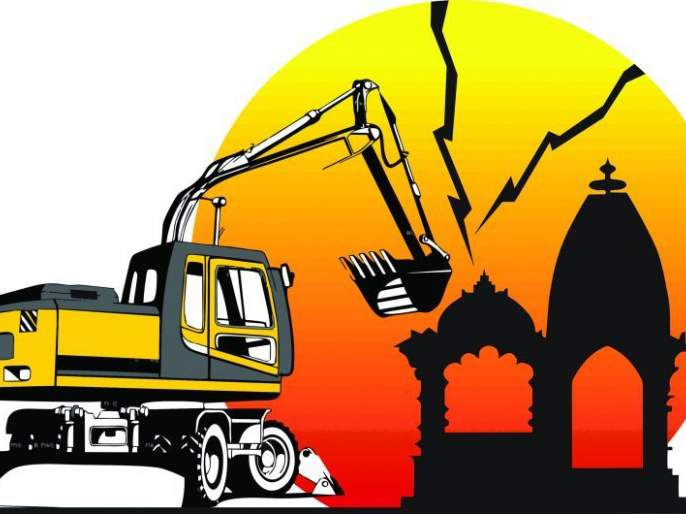 H. B. Town Shitla Mata Mandir will demolish | एच. बी. टाऊनमधील शीतला माता मंदिर पाडणार