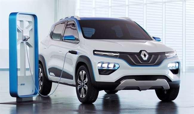 renault kwid electric or dacia spring launched in europe at rs 15 lakh   Renault Kwid Electric : कमी किंमतीत लाँच झाली रेनोची इलेक्ट्रिक कार; सिंगल चार्जवर जाणार 305km
