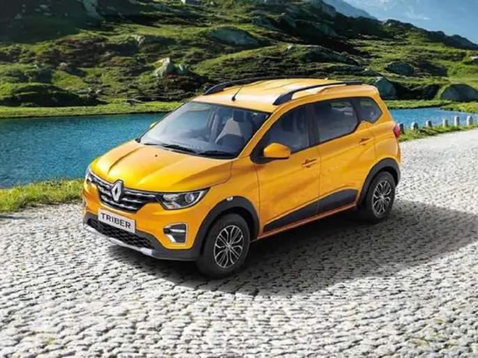 Benefits Of Up To 65000 rupees On Renault Triber In April 2021specials offer for village people | Renault Triber: 7 सीटर MPV वर मिळतोय भारी डिस्काऊंट; ग्रामीण भागांसाठीही कंपनीची जबरदस्त ऑफर