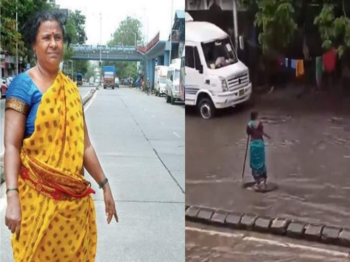 Mumbai Woman Stands In Rain For 7 Hours To Warn Passing Vehicles About Open Manhole, Loses Her house | घर वाहून गेलं, शिक्षणासाठी जमवलेले पैसेही गेले; पण 'त्या' उघड्या मॅनहोलजवळून हलल्या नाहीत!