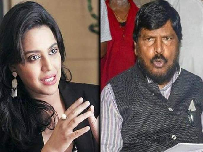 Swara Bhasker takes dig at Ramdas Athawale supporting Payal Ghosh   स्वरा भास्करचा रामदास आठवलेंना टोला, म्हणाली - चांगलं झालं असतं जर हाथरस गॅंगरेप पीडितेला...
