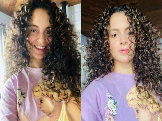 Kangana Ranaut posted her selfies and said today is a very special day   कंगना रणौतने शेअर केला सेल्फी, म्हणाली - आजचा दिवस खूप खास आहे, आशीर्वाद द्या...