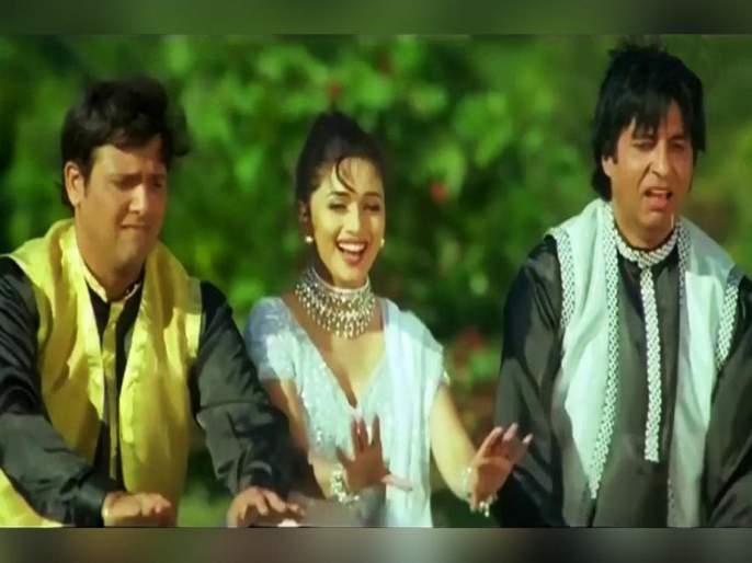 Bade Miyan Chote Miyan completes 22 years Madhuri Dixit shares this scene | VIDEO : माधुरीला वाचवण्यासाठी अमिताभ-गोविंदाने गुंडांना धुतलं, अभिनेत्रीने शेअर केला सीन!