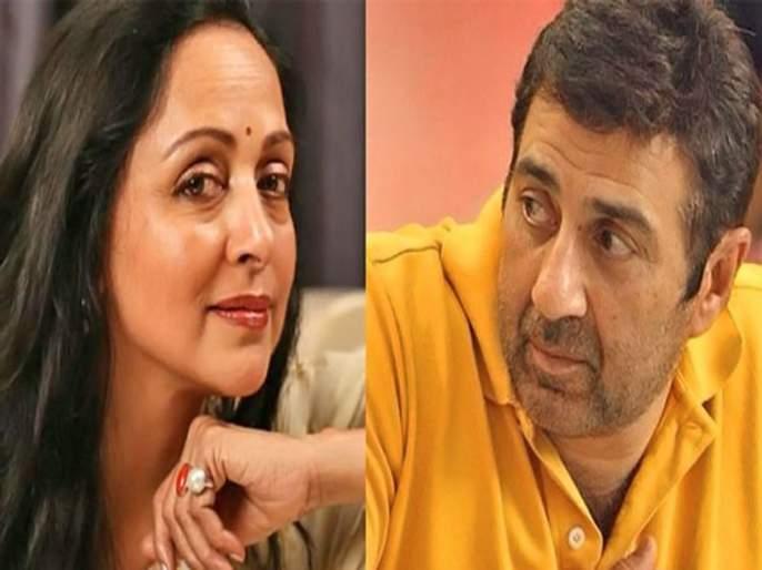 Birthday Special : When Sunny Deol spoke to Hema Malini for the first time for Dimple Kapadia   'या' अभिनेत्रीमुळे पहिल्यांदा सनी सावत्र आई हेमा मालिनी यांच्यासोबत बोलला होता, 'हे' होतं कारण!
