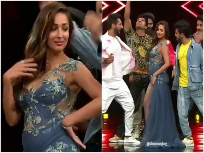Malaika Arora dance on Arjun Kapoor song Hua Chokra Jawaan with Punit Pathak video viral on internet | VIDEO : मलायकाचा अर्जुन कपूरच्या गाण्यावर जबरदस्त डान्स, अंदाज पाहून व्हाल घायाळ....