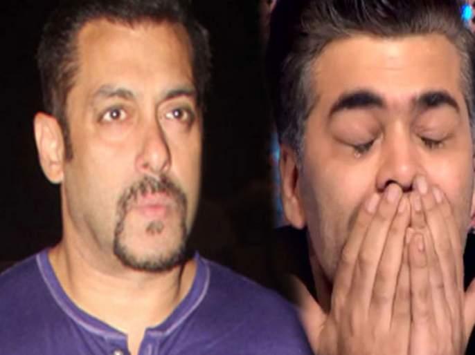 Throwback : When Salman Khan made Karan Johar cry on the sets of Kuch Kuch Hota Hai | Throwback : सलमानच्या हट्टासमोर करण जोहरने टेकले होते गुडघे, ढसा ढसा रडायचाच बाकी राहिला होता...