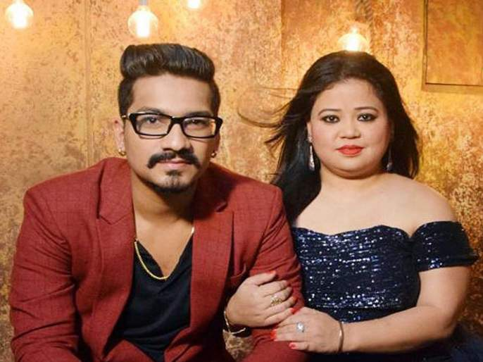 Bharti Singh and husband Haarsh trolled after posting photo social media   हर्षने पत्नी भारतीसोबतचा रोमॅंटिक फोटो केला शेअर, टोलर्सना दिलं सडेतोड उत्तर...
