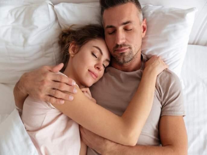 Sleeping pattern says a lot about your love and sex life | झोपण्याच्या पद्धतीचा लव्ह आणि सेक्स लाइफला बसतो फटका, रिसर्चमधून आश्चर्यजनक खुलासा...