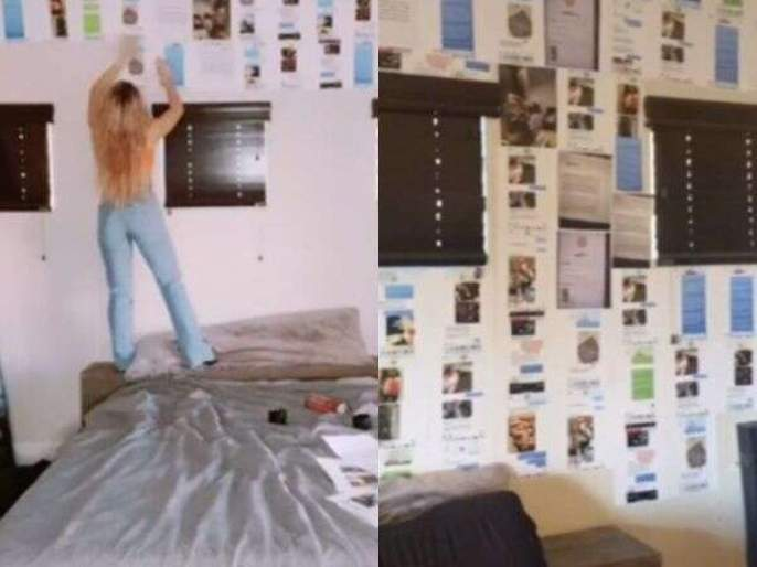 Girlfriend glue cheating evidence of boyfriend on his room | बोंबला! आणखी तीन तरूणींसोबत सुरू होतं अफेअर, गर्लफ्रेन्डला समजलं तर तिने असा शिकवला धडा!