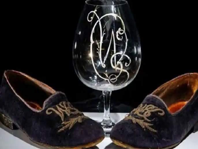 Sir Winston Churchill slippers sold for almost 40 lac at auction and know brandy glass cost   काय सांगता! दारूच्या एका ग्लासाची किंमत वाचून व्हाल अवाक्, ४० लाखात विकले गेले 'लक्झरी शूज'