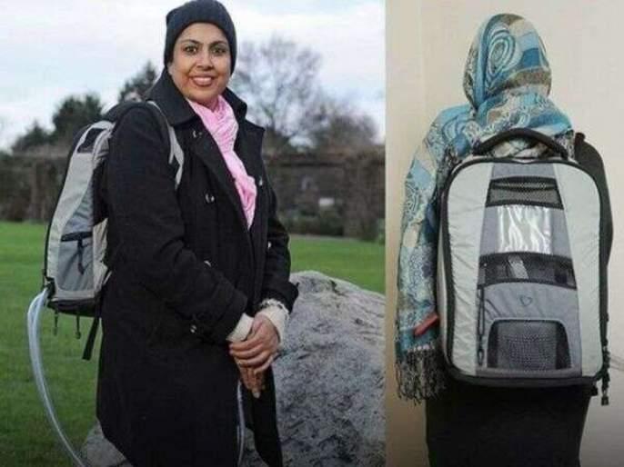 Meet this woman who carries her heart on bag | अरे देवा! ही महिला बॅगेत घेऊन फिरते तिचं 'हृदय', पण असं का ते वाचा.....
