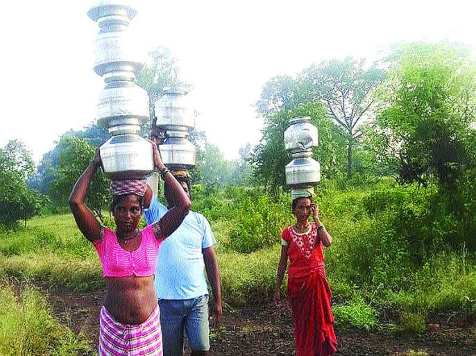 Plumbing schemes for Tadwadi-Morewadi still on paper   ताडवाडी-मोरेवाडीसाठी नळपाणी योजना अद्याप कागदावर