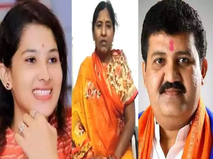 Case filed against Shanta Rathore in pooja chavan's allegation case | Pooja chavan case: 5 कोटी घेतल्याचे आरोप भोवले; शांता राठोड यांच्याविरोधात गुन्हा दाखल